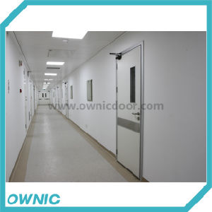Single Leaf Swing Door Manual Open for Hospitals pictures & photos