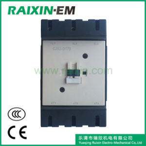 Raixin New Type Cjx2-D170 AC Contactor 3p AC-3 380V 90kw pictures & photos