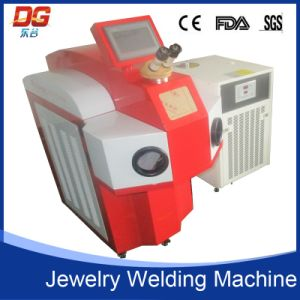 China External Laser Engraving Spot Welding Machine for Jewelry pictures & photos
