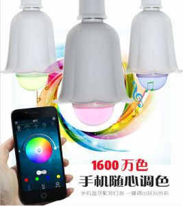 2-in-1 New Electric LED Bulb Light Wireless Bluetooth Speaker