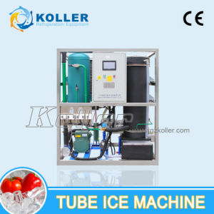 1 Ton/Day Edible Tube Ice From Tube Ice Machine with PLC Control System (TV10) pictures & photos