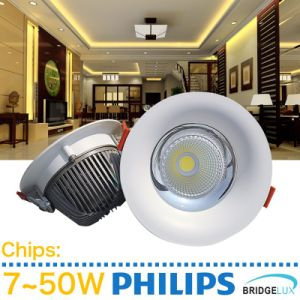 7W-50W High Power Embeded LED COB Downlight with Ce SAA pictures & photos