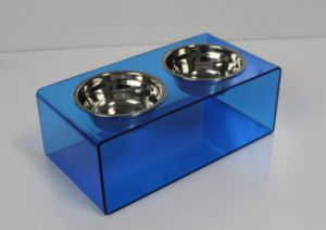 Factory Supply Acrylic Dog/Cat Feeder pictures & photos