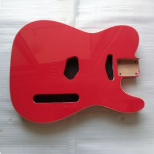 Gloss Finished Fiesta Red Tele Guitar Body with Double Binding pictures & photos