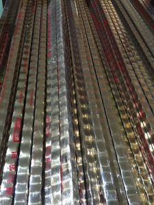 Exquisite Pattern Stainless Steel Corrugated Pipe for Decoration pictures & photos