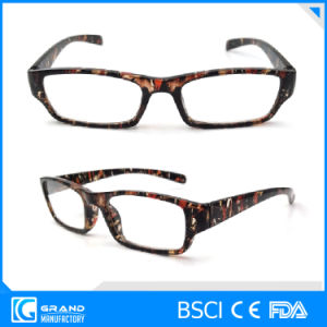 Fashion Bright Light Clear Lens Slim Plastic Reading Glasses pictures & photos