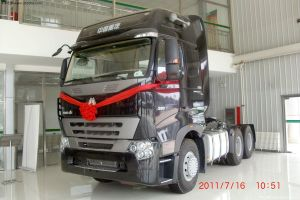 Sinotruk 371HP Trailer Tractor with Luxury Cab pictures & photos