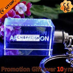 Carving/Laser Engraving Custom Logo Crystal Key Holder (YT-3271) pictures & photos