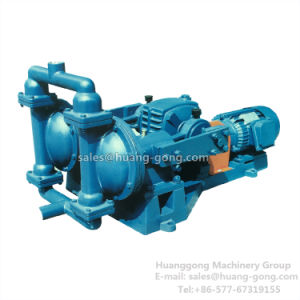 Electric Motor Driven Operated Double Operated Diaphragm Pump pictures & photos