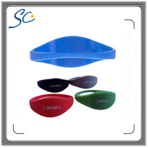 Multi Color Waterproof UHF RFID Wristband Tags pictures & photos