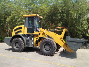 2ton China Made Small Wheel Loader with Cummins Engine pictures & photos