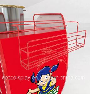 Supermarket Metal Display Rack Indoor Metal Display Stand pictures & photos