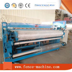 Low Price Automatic Welded Wire Roll Mesh Welding Machine Manufacture pictures & photos