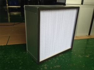 HEPA Air Filter Efficiency 99.995% 0.3microns with Aluminum Frame pictures & photos