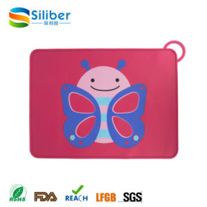 Table Mat Type Baby Kids Silicone Placemat pictures & photos