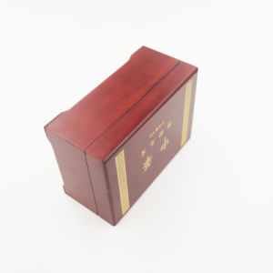 Top Quality Varnished Laser Engraved Wooden Box for Jewelry (J99-M) pictures & photos