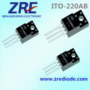 25A Sr2540fct Thru Sr25200fct Schottky Barrier Rectifier ITO-220ab Package pictures & photos