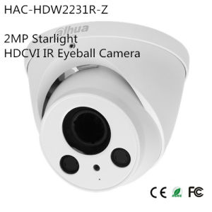 2MP Starlight Hdcvi IR Eyeball Camera (HAC-HDW2231R-Z) pictures & photos