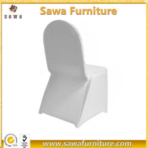 Cheap Fancy Wedding White Folding Spandex Chair Cover pictures & photos
