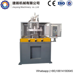 Ball Pen Making Rotary Table Vertical Plastic Injection Moulding Machinery 45ton pictures & photos