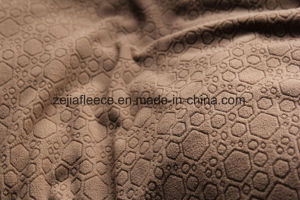 Jacquard Polar Fleece in Plain Dyed pictures & photos