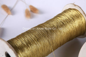 Elastic Gift Package Gold / Silver Thread for Stylish Hanbag Handle pictures & photos