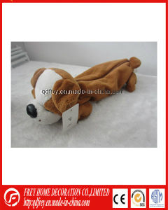 New Fashion Plush Dog Pencial Bag with CE