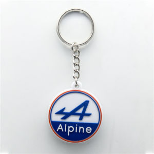 Basketball Sport PVC Label Key Chain pictures & photos