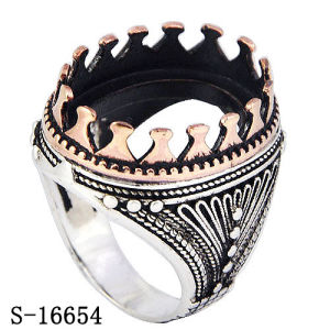 Hotsale Model Silver Copper Jewelry Ring for Man pictures & photos