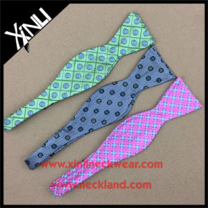 High Fashion 100% Silk Woven Self Tie Bow Ties for Men pictures & photos