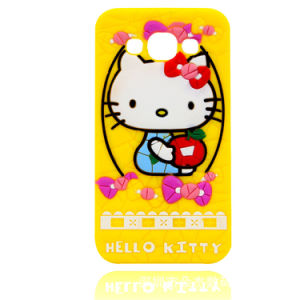 2017 Fashion Hello Kitty Silicone Anime Phone Case pictures & photos