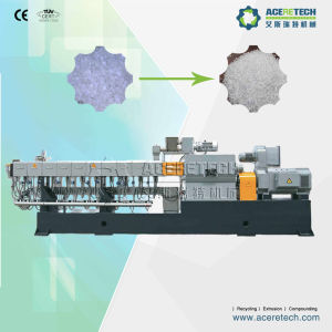 Twin Screw Extruder for Pet Bottles Recycling Pelletizing pictures & photos