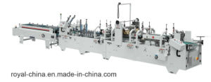 Pre-Fold and Crash Lock Bottom Corrugated Paper Folder Gluer with ISO9001 pictures & photos