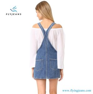 Women Denim Dresses with 100% Cotton Enzyme Wash 12 Oz Weight From Fly Jeans Garment pictures & photos