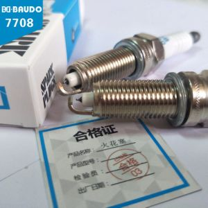 High Quality Baudo Bd-7708 Idirium Spark Plug for Car Engine pictures & photos