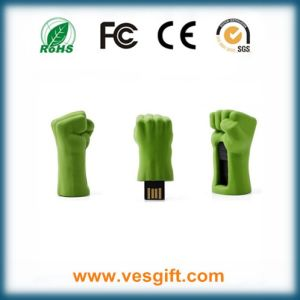 Fashion Shape Iron Man Hulk Hand USB Drive Pendrive pictures & photos