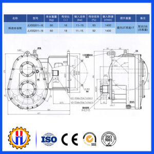 Speed Reducer Gearbox, Hoist Speed Reducer pictures & photos
