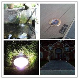 Energy Saviing Round Solar Mini LED Sidewalk Underground Light pictures & photos
