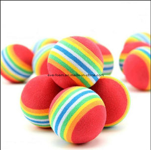 7 Colors Golf Ball Indoor Exercise Ball Foam Ball EVA Solid Color pictures & photos