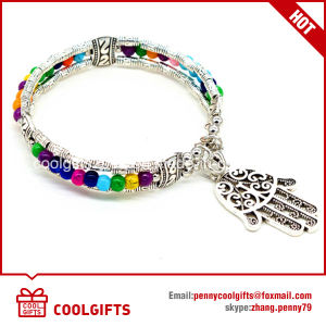 Alloy Vintage Ladies Hand of Fatima Bracelet for Promotion Gift pictures & photos