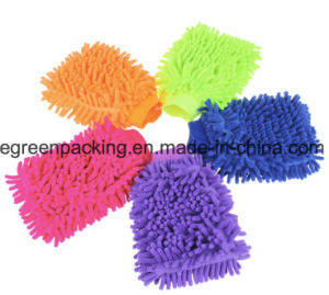 Microfiber Chenille Mitt for Car Cleaning pictures & photos