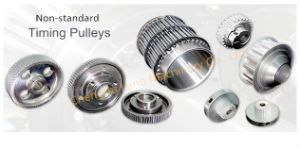 Customized at Series 12t to 60t Transmission Pulley with Hub pictures & photos