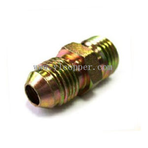 45 Degree Straight Thread Hydraulic Elbow pictures & photos