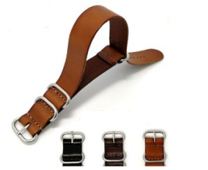 Genuine Buffalo Leather Watch Straps pictures & photos