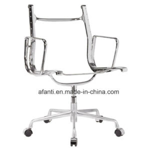 Modern Eames Aluminum Office Hotel Leather Visitor Meeting Chair (RFT-E01) pictures & photos
