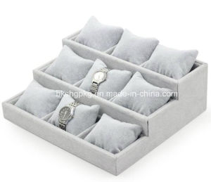 Ice Velvet Watch Display, Watch Tray pictures & photos