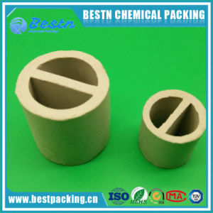 Ceramic One Partition Ring as Chemical Tower Packing (17~23% Al2O3) pictures & photos