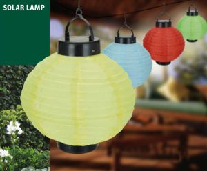 Multi-Color Optional Solar Lantern for Outdoor Decoration pictures & photos