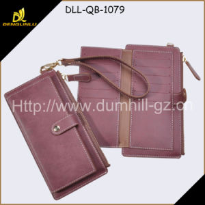 Fashion PU Hand Lady Wallet pictures & photos