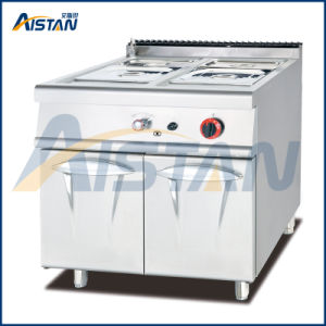 Gh784 Gas Bain Marie with Cabinet of Catering Equipment pictures & photos